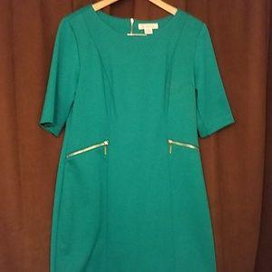 Liz Claiborne Teal Dress size 8
